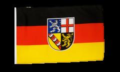Drapeau Allemagne Sarre avec ourlet
