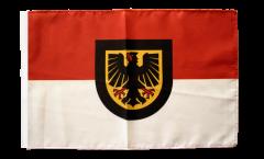 Drapeau Allemagne Dortmund avec ourlet
