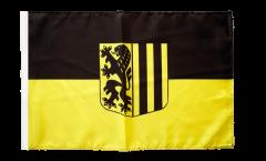 Drapeau Allemagne Dresde avec ourlet