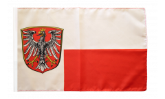 Drapeau Allemagne Francfort avec ourlet