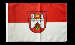 Drapeau Allemagne Hannover Hanovre avec ourlet