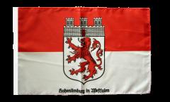 Drapeau Hohenlimburg avec ourlet