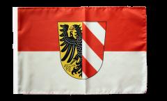 Drapeau Allemagne Nürnberg Nuremberg avec ourlet