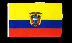 Drapeau Équateur avec ourlet