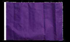Drapeau Unicolore Lilas avec ourlet
