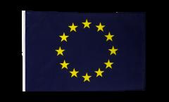 Drapeau Union européenne UE avec ourlet