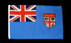 Drapeau Fidji avec ourlet