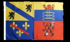 Drapeau France Ain - 30 x 45 cm