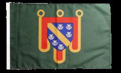 Drapeau France Cantal - 30 x 45 cm