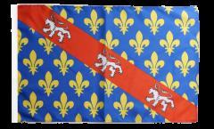 Drapeau France Creuse - 30 x 45 cm