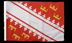 Drapeau France Alsace nouveau avec ourlet