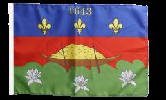 Drapeau France Guyane Cayenne - 30 x 45 cm