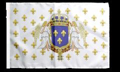 Drapeau France Royaume 987 - 1791 avec ourlet