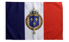 Drapeau France Blason royal - 30 x 45 cm