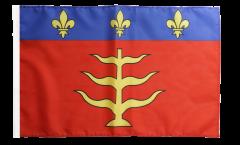 Drapeau France Montauban - 30 x 45 cm