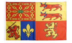 Drapeau France Pyrénées-Atlantiques - 30 x 45 cm