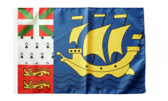 Drapeau France Saint-Pierre-et-Miquelon - 30 x 45 cm