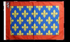 Drapeau France Sarthe avec ourlet