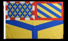 Drapeau France Yonne - 30 x 45 cm