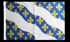 Drapeau France Yvelines avec ourlet