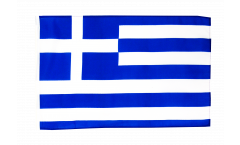 Drapeau Grèce avec ourlet