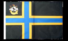 Drapeau Royaume-Uni Caithness avec ourlet