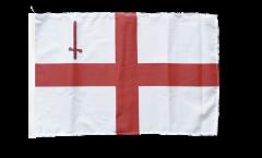 Drapeau Royaume-Uni London avec ourlet