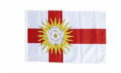 Drapeau Royaume-Uni Yorkshire West Riding avec ourlet