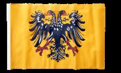 Drapeau Saint-Empire romain germanique après 1400 avec ourlet