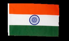 Drapeau Inde avec ourlet