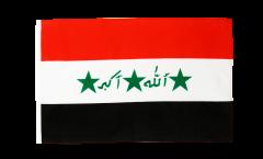Drapeau Irak ancien 1991-2004 avec ourlet