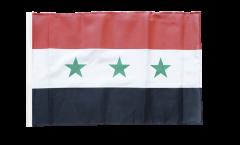 Drapeau Irak sans écrit 1963-1991 avec ourlet