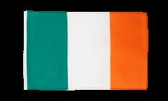 Drapeau Irlande avec ourlet