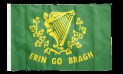 Drapeau Irlande Erin Go Bragh avec ourlet