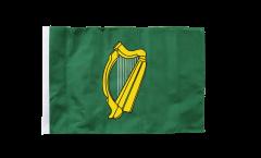 Drapeau Irlande Leinster avec ourlet