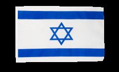 Drapeau Israël avec ourlet