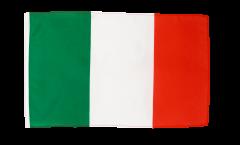 Drapeau Italie avec ourlet