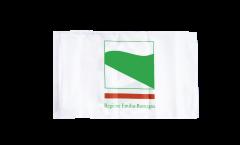Drapeau Italie Émilie-Romagne avec ourlet