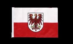 Drapeau Italie Tyrol-du-Sud avec ourlet