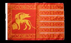 Drapeau Italie République de Venise 697-1797 avec ourlet