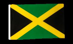 Drapeau Jamaïque avec ourlet