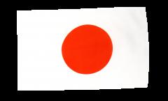 Drapeau Japon avec ourlet