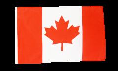 Drapeau Canada avec ourlet