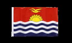 Drapeau Kiribati avec ourlet