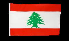 Drapeau Liban avec ourlet