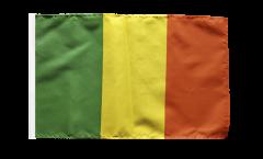 Drapeau Mali avec ourlet