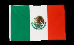 Drapeau Mexique avec ourlet