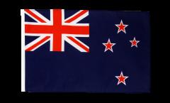 Drapeau Nouvelle-Zélande avec ourlet