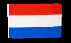 Drapeau Pays-Bas avec ourlet