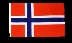 Drapeau Norvège avec ourlet
